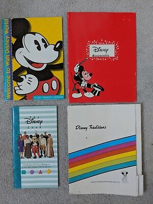 WDW Disney Cast Member The Disney Look Guidelines / Handbook / 2 Folders