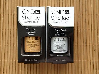 CND Shellac Base Top coat Super Qualität