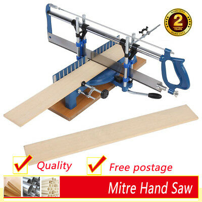 Heavy Duty Precision Iron Miter Hand Saw For Woodworking Angle Sawing Hand Tool