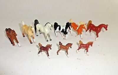 GC Grand Champion + EMPIRE Mini Whinnies Horse Figures Lot of 9 - AUC#2