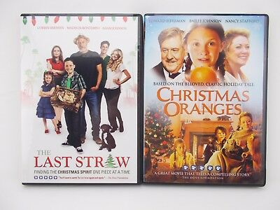 The Last Straw & Christmas Oranges DVD Combo Pack Christian Christmas Movies