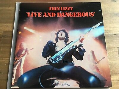 THIN LIZZY - LIVE AND DANGEROUS, Vinyl