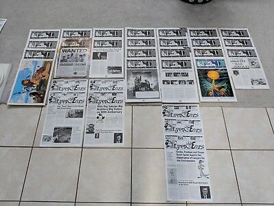 Lot Of Disney World Wdw Eyes & Ears Newsletters Lion King 1994