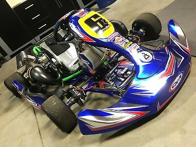 2018 CKR 'Cuda 32mm, '01 Swedetech Shifter Kart Race Ready - New-Line, Mychron5