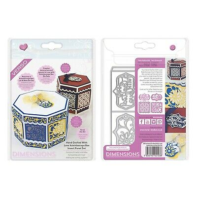 Tonic Studios Dimensions Stanzschablone 8tlg. - Kaleidoscope - Hand crafted With