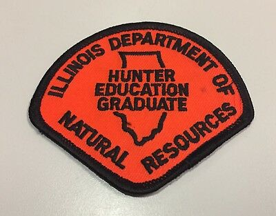 IL Illinois Dept. of Natural Resources Hunter Education Graduate patch - NEW!