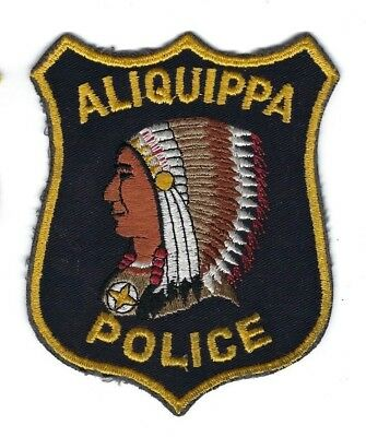 Aliquippa (Beaver County) PA Pennsylvania Police patch - NEW! *Indian Chief*