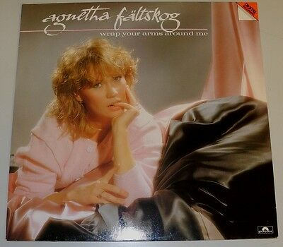 Lp De**agnetha Fältskog - Wrap Your Arms Around Me (Polydor '83)***6643