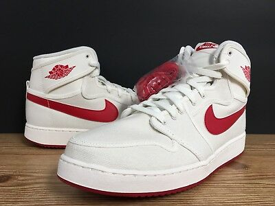 dbb5089a51df NIKE AIR JORDAN 1 KO AJKO High OG Sail Varsity Red white 638471-102 ...