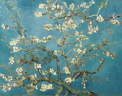 Vincent van Gogh, Almond Blossom, 1890 Hand Painted Canvas Oil Painting