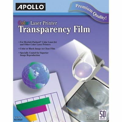 Apollo(R) Laser OHP Transparency Film, 8 1/2in. x 11in., Box Of 50