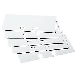 Rolodex(R) Card File Refills, Unruled, 2 1/4in. x 4in., White, Pack Of 100