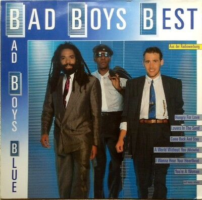 "BAD BOYS BLUE LP Germany 1989 ""Bad Boys Best"" RARITÄT & TOPZUSTAND !!!"