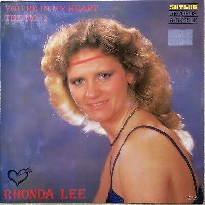 "RHONDA LEE LP Germany 1982 ""You're in my heart the No.1""RARITÄT & TOPZUSTAND !!!"
