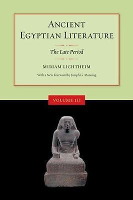 Ancient Egyptian Literature: Volume I: The Old and Middle Kingdoms (Ancient Egyp