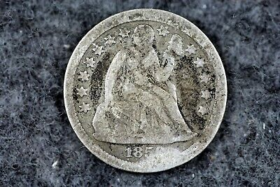 Estate Find 1858 - Seated Liberty Dime!!   #H2795