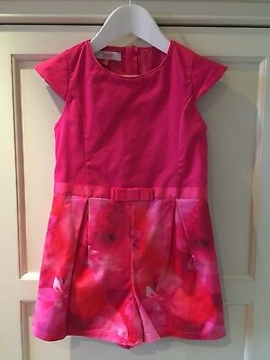 Girls Ted Baker Playsuit age 8 (fits Age 7)