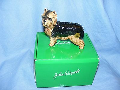 John Beswick Dog Yorkshire Terrier JBD95 New Boxed Figurine Present Gift