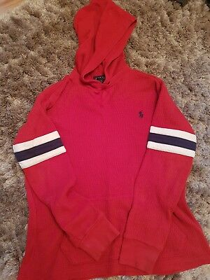 Ralph lauren boys age 7 hooded jumper