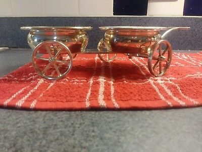 FBRodgers Silver Plate Wagon