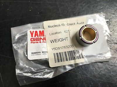 Genuine Yamaha YP125 Majesty Skyliner 98-01 Clutch Roller Weight 5DS-17632-00