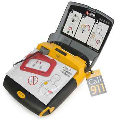 Medtronic Physio-Control LIFEPAK CR Plus AED With Case Pads and Battery