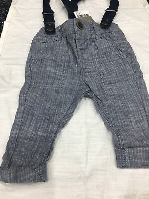 Next Boys Trousers 3-6 Months