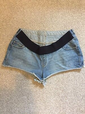 ASOS Maternity Denim Shorts Size 20 EUC