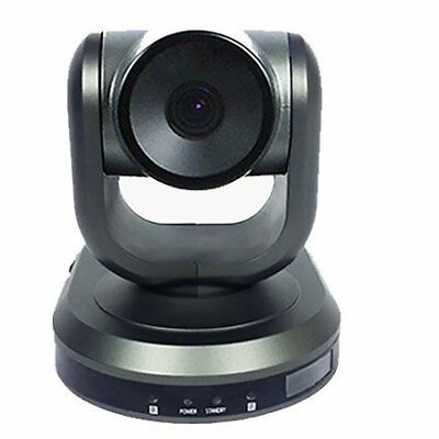 HuddleCamHD-3X-Wide USB 3.0 PTZ 1080p Wide Angle Video Conference Camera - Gray