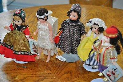 Madame Alexander Doll - Dolls - Lot Deal - 5 IN ALL