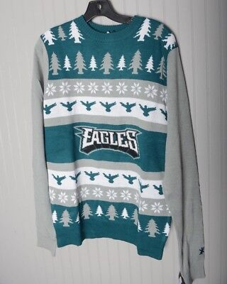 Nfl Philadelphia Eagles Ugly Holiday Snowman Sweater Crew