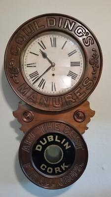 "New Haven ""Goulding"" Advertising Wall Clock"