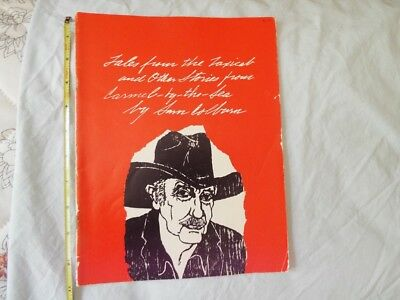 1979 Tales from the Taxicab Carmel-by-the-Sea CA Sam Colburn Joe's Taxi Signed