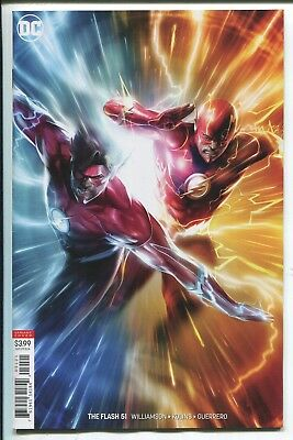 Flash #51 - Francesco Mattina Virgin Art Variant Cover - Dc Comics/2018