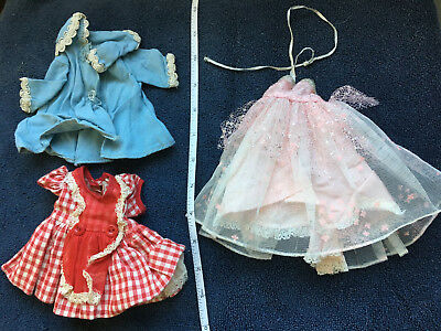 Vintage R&B Littlest Angel Clothing:  Gown, dress and coat