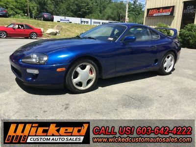 1993 Toyota Supra TURBO TARGA TOP TOYOTA SUPRA TURBO TARGA 6-SPEED 6266 PRECISION V160 2JZ-GTE