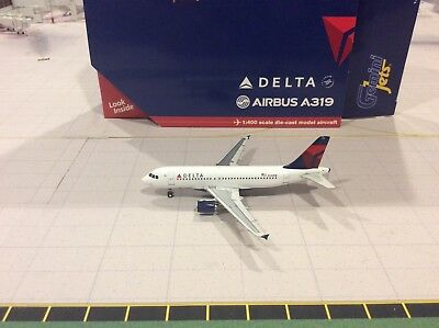 1:400Gemini Jets Delta Airlines A319 GJDAL1399 very rare!!
