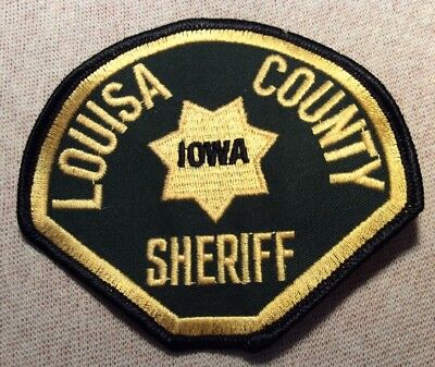 IA Louisa County Iowa Sheriff Patch