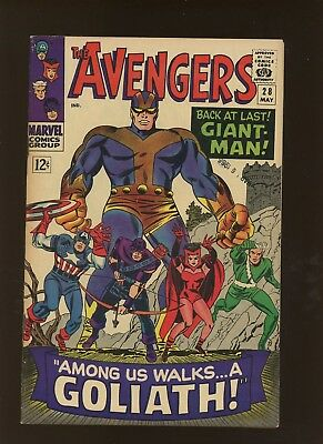 Avengers 28 FN/VF 7.0 * 1 Book Lot * 1st Collector! Stan Lee & Don Heck!