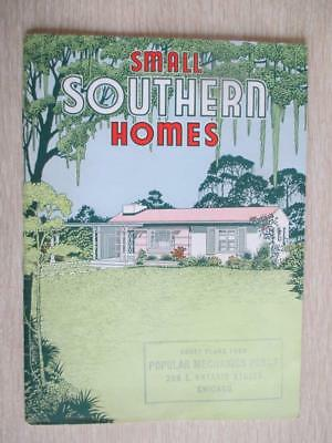 E9 Vintage Small Southern Homes Catalog Pre-Cut Blueprints with Photos