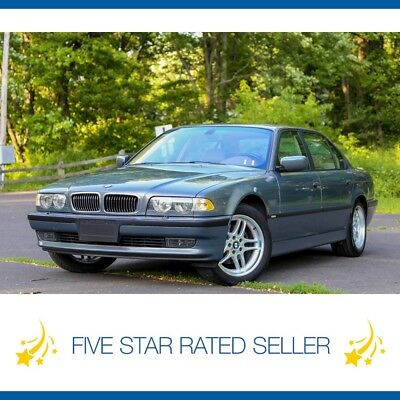 BMW 7-Series Sport Package 85K Navi VIdeo California Loaded CARFAX 2001 BMW 740IL Sport Package Super Low 85K Navi Video California Loaded CARFAX