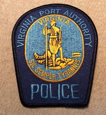 VA Virginia Port Authority Police Patch