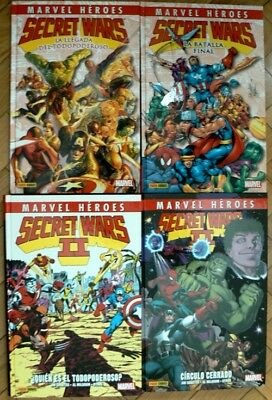 Secret Wars y Secret Wars II | COLECCIÓN COMPLETA