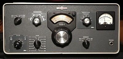 Collins 75S-1 HF Ham Receiver with Waters Q Multiplier