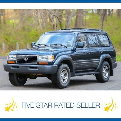 Lexus LX 3rd Row Land Cruiser CARFAX Tow fj80 1996 Lexus LX450 4WD Serviced  LX 450 3rd Row Land Cruiser CARFAX Tow fj80