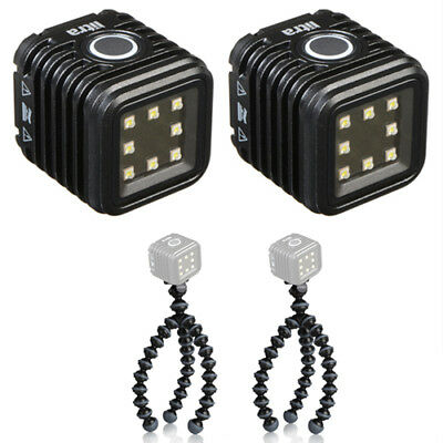 (2) LITRA LitraTorch Photo and Video Light with (2) Flexible Mini-Tripod