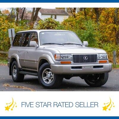 1997 Lexus LX California NO RUST Tow Land Cruiser 1997 Lexus LX450 California Car Serviced  LX 450 Tow Land Cruiser CARFAX