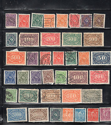 Germany  Stamps Canceled & Mint Hinged  Lot 28067