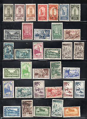 France Europe Morocco Africa  Stamps Canceled & Mint Hinged  Lot 28071