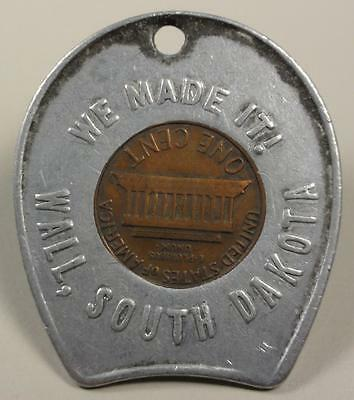 Encased Coin Wall South Dakota WE MADE IT! 1975-D Cent ME473